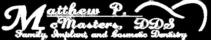 McMasters logo white